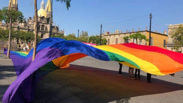 Organizaciones de la diversidad sexual llegan a Plaza Liberación